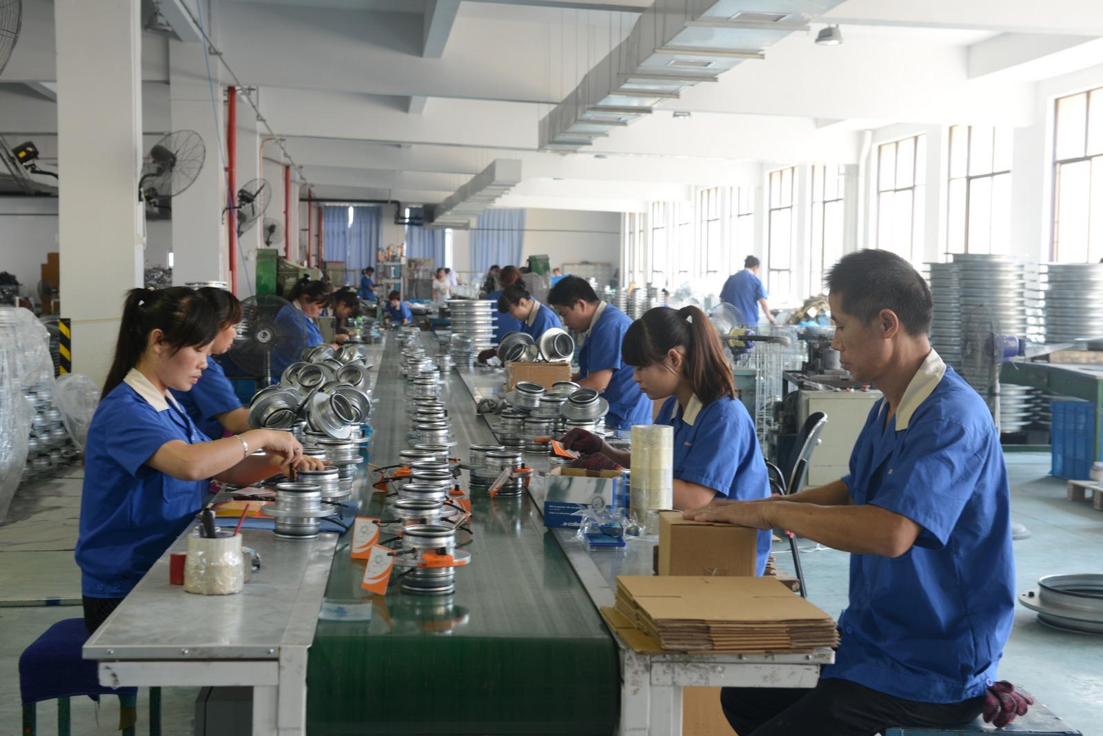 Jhystamping factory 2 - HVAC Accessories - custom stamp making