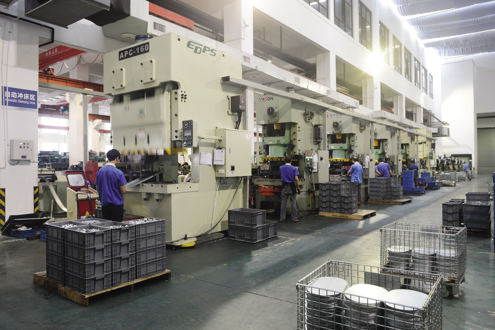 Progressive Die Pressing Production Line