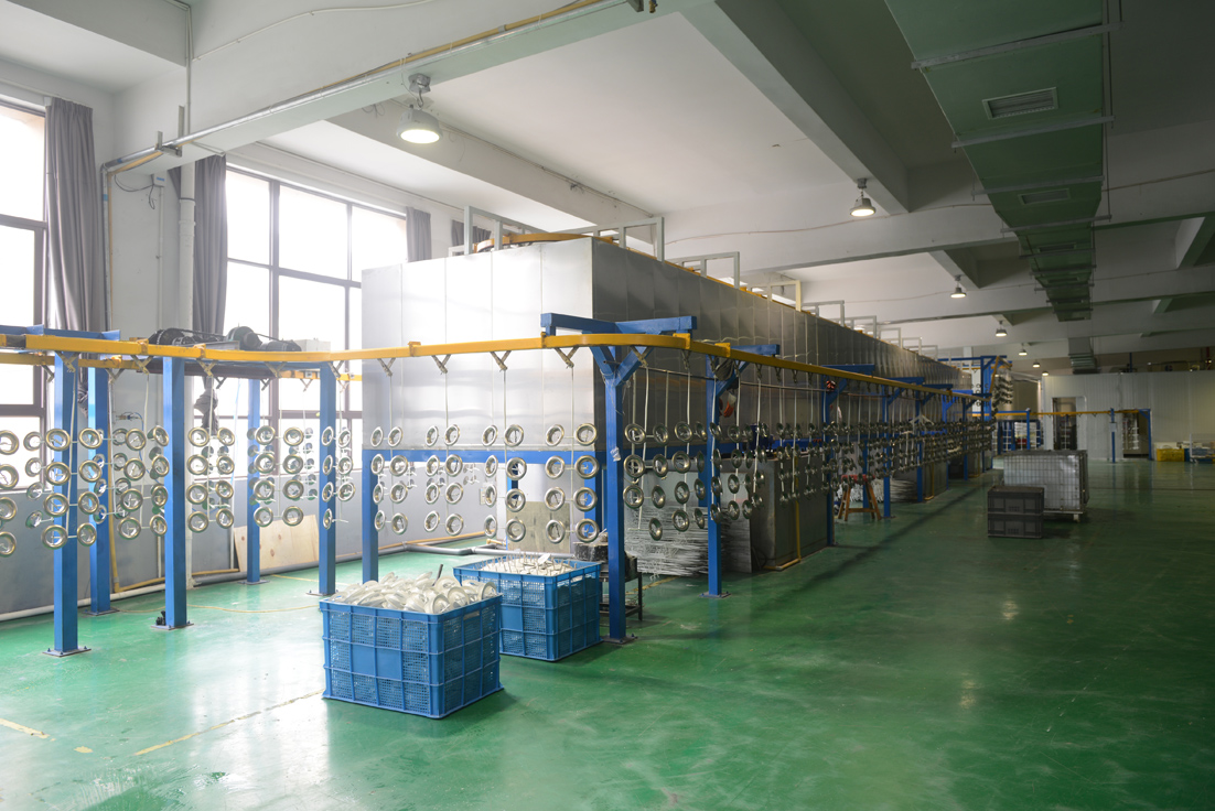 Fully Automatic Powder Coating Line